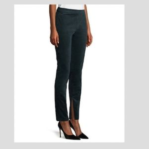 Theory Conduroy Slim Leg High Waisted Leggings
